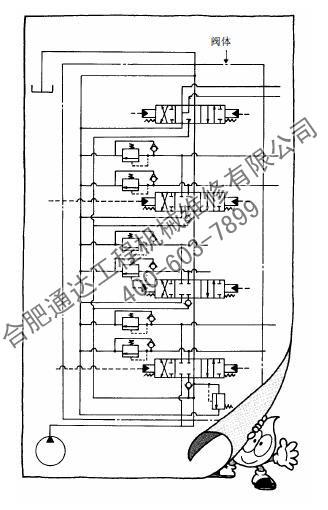 现代挖掘机60-7电路图